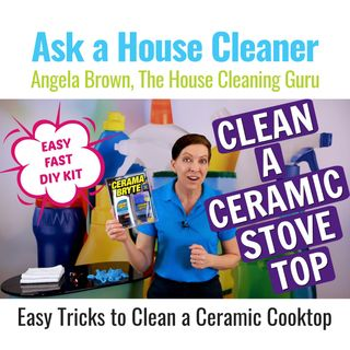 How to Clean a Ceramic Stove Top - Cerama Bryte Product Review