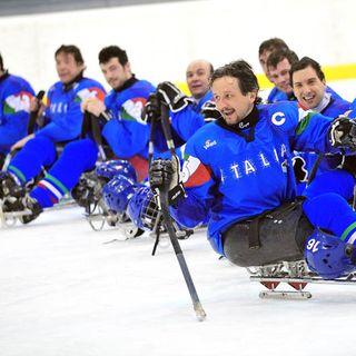 La I giornata del Torneo Internazionale di Para Ice Hockey