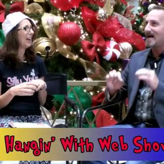 The Silly YaYa (Violet Favero) interview on the Hangin With Web Show