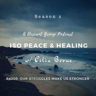 ISOP205: Our Struggles Make Us Stronger