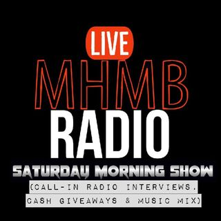 Episode 8 - Saturday Morning Show ( Call-in Interviews, Cash Giveaways & Music Mix)