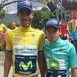Omar Mendoza toma el liderato de la Vuelta a Antioquia
