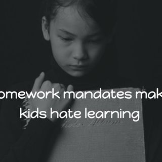 111: Homework mandates and politicians are undermining teachers and learners: Hack Learning Uncut