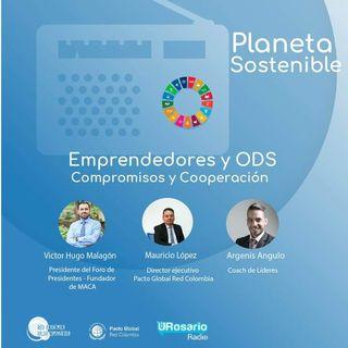 Emprendedores y ODS:  compromisos y cooperación