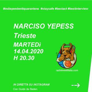 #QUARANTINE - Vengo dopo il tg - Narciso Yepess