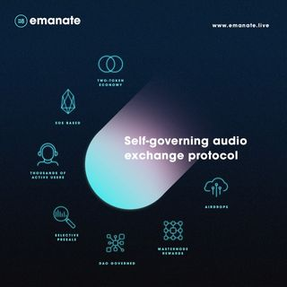 Discover Emanate the Self-Governing Audio Exchange Protocol.