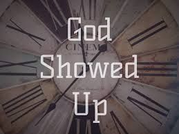 "session 162 ""God Showed Up"""