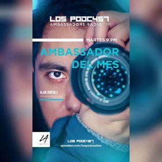 02 AMBASSADOR DEL MES | Alan Jiménez