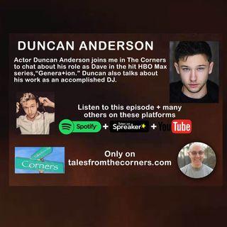 Actor Duncan Anderson