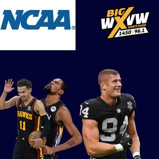 Nassib, NCAA, NBA, and Combs