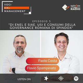 Episodio 5 - Di Enel e SIAE. Usi e consumi della Governance romana di Spindox - Intervista a Flavio Spampinato