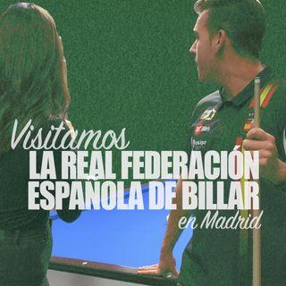 Visitamos la Real Federación Española de Billar en Madrid | Taco, tiza y desliza