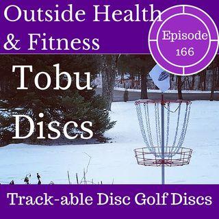 Tobu Discs - Trackable Disc Golf Discs