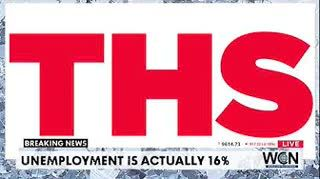 Unemployment is actually 16% — Whoopsie!  - $9656 #THS
