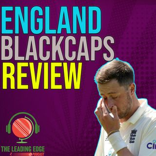 England New Zealand 1st Test Review   Devon Conway Shines   England Refuse To Win