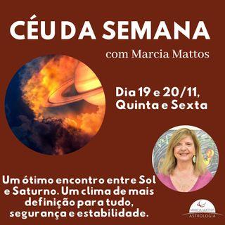 Céu da Semana - Quinta e sexta, 19 e 20/11 - Um ótimo encontro entre Sol e Saturno.