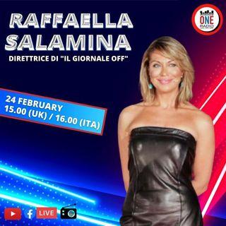"""Raffaella Salamina: Su """"Il giornale Off"""" raccontiamo la cultura italiana a 360°"""