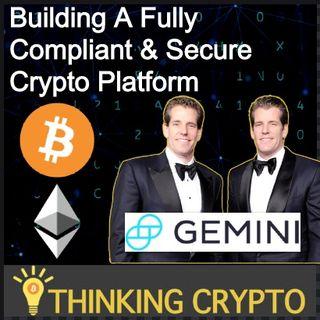 Interview: Cameron & Tyler Winklevoss - Gemini, Bitcoin, JP Morgan Banking, ETH 2.0, Quantum Computing BTC, Facebook Libra