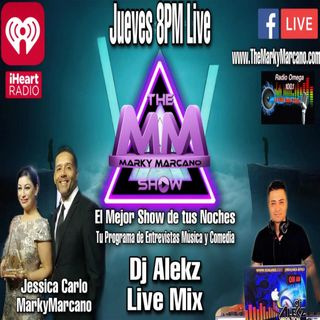 TheMarkyMarcanoShow Live With Music by DJ Alekz -Sunshine Remix -