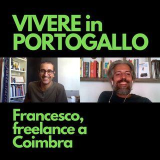 Francesco, freelance a Coimbra