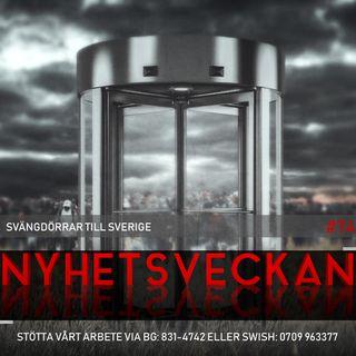 """Nyhetsveckan #74 – Svängdörrar till Sverige, kunglig skandal, """"vidrigt"""" om Irankraschen"""