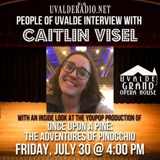 Caitlin Visel, Uvalde Grand Opera House, July 2021