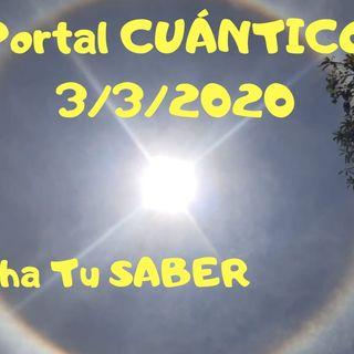 🌈❤️Portal 3 3 2020 ESCUCHA TU SABER✨💫