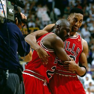 Buffa e Tranquillo - 1997 Nba Finals - Bulls Vs Jazz - Gara 5 - 2Q