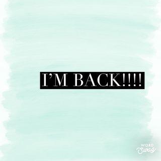 Episode 45 - I'm back!!!