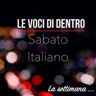 Sabato Italiano-Stasera gioco in casa