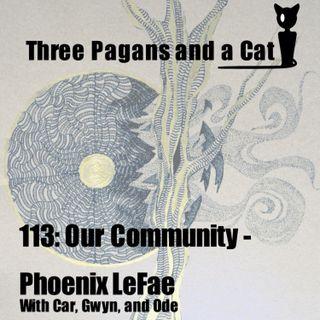 Episode 113: Our Community: Phoenix LeFae