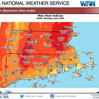 Heat Advisory In Effect; Some MA Schools Closed Due To Temps