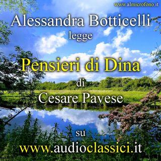 Cesare Pavese - Pensieri di Dina