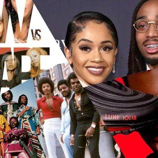 Earth Wind & Fire vs Isley Bros, SWV vs Xscape, Quavo & Saweetie elevator, Lil Nas X controversy