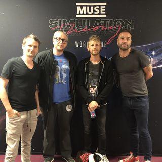 It's Mike Jones: Muse's Dominic Howard