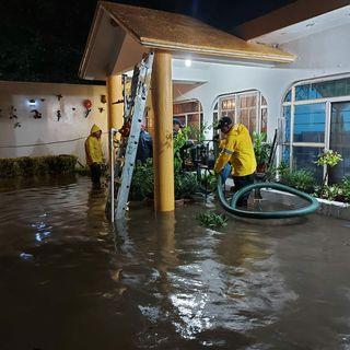 Lluvias intensas provocan inundaciones en Morelos