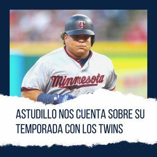 Astudillo nos cuenta sobre su temporada con los Twins