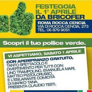 Spot Festa della Primavera Bricofer Roma Rocca Cencia