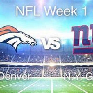 Broncos & Pat Shurmur Kicked The Giants Asses!!  No Pass Rush & Daniel Jones Fumble!