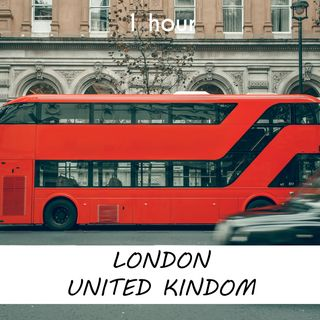 London, United Kindom | 1 hour RIVER Sound Podcast | White Noise | ASMR sounds for deep Sleep | Relax | Meditation | Colicky