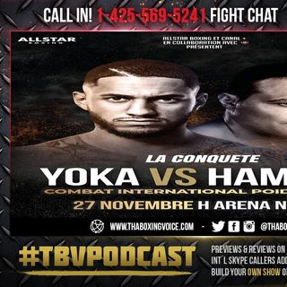☎️Tony Yoka vs. Christian Hammer 10 Rounds, Heavyweight Live Fight Chat❗️