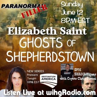 Elizabeth Saint On Paranormal Filler