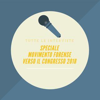 SPECIALE MOVIMENTO FORENSE – VERSO IL CONGRESSO 2018 - Lunedì 27 Novembre ore 15.00 #Speciale