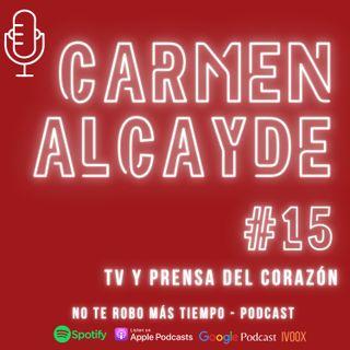 #15 Carmen Alcayde  - TV y Prensa del corazón