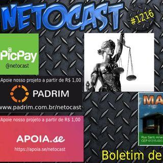 NETOCAST 1216 DE 08/11/2019 - BOLETIM DE DIREITO