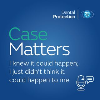 CaseMatters: I knew it could happen; I just didn't think it could happen to me
