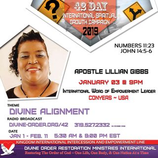 Walking in Spiritual Unity | Apostle Lillian Gibbs |42-Day Divine Alignment