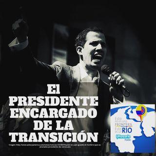El presidente encargado de la transición