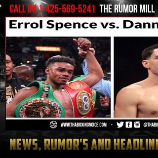 ☎️Garcia to Spence Take Time Off You Was EJECTED at 100 MPH🤕January Always OUR DATE❗️