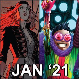 Ep 003 - Best Comics of January 2021
